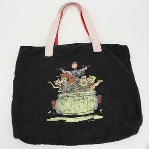Vintage Flinstones Tote Bag